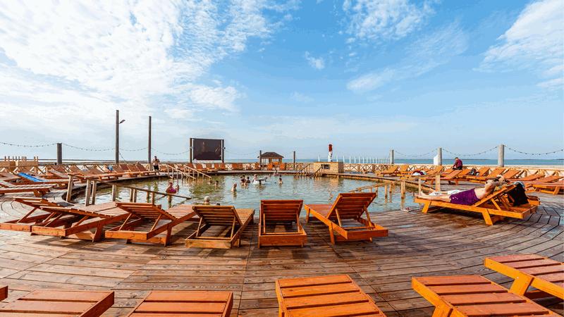 Отдых на Азовском море | Горячий источник Счастливцево АРАБАТСКИЕ ТЕРМЫ