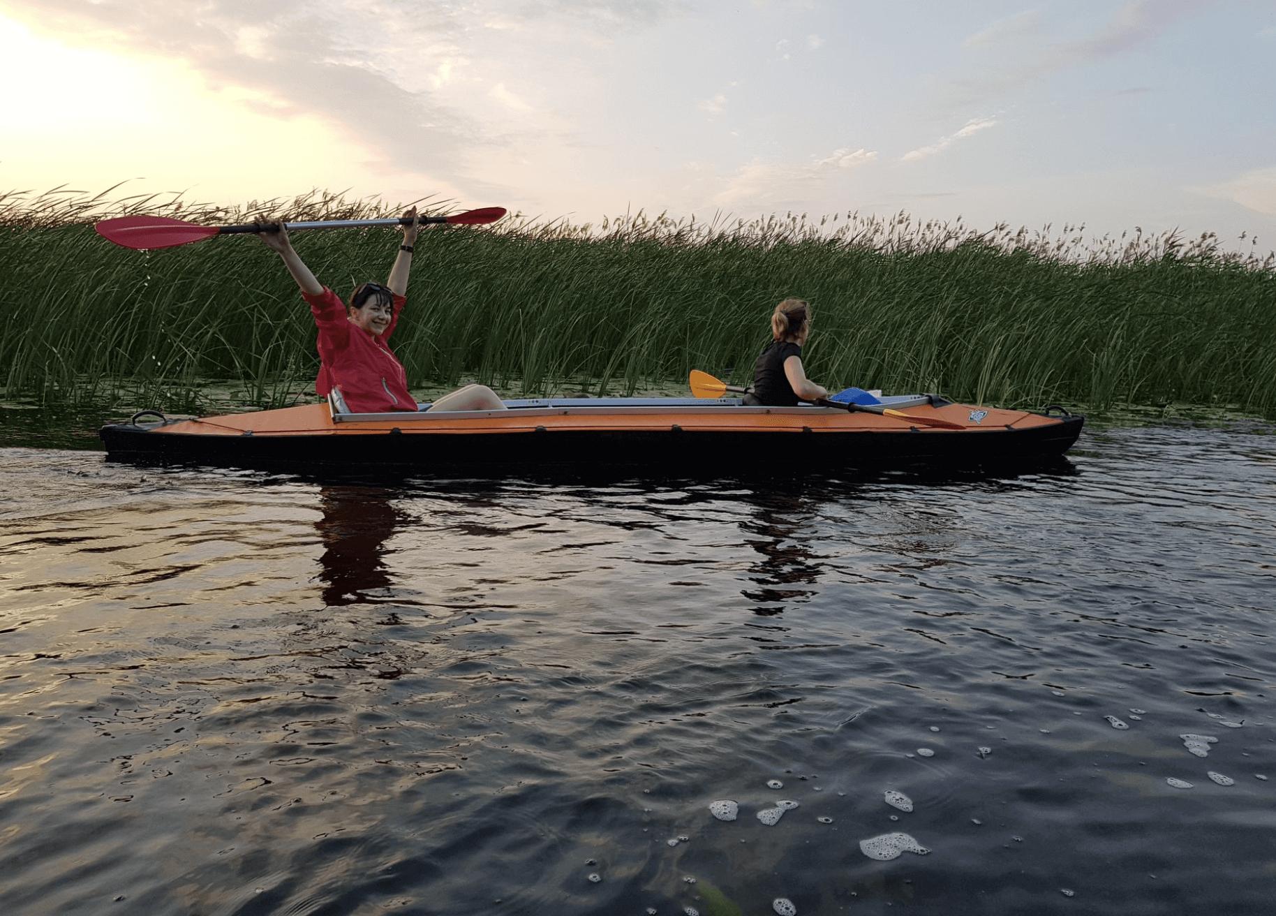 Байдарки по Днепровским плавням, отдых в Херсонской области