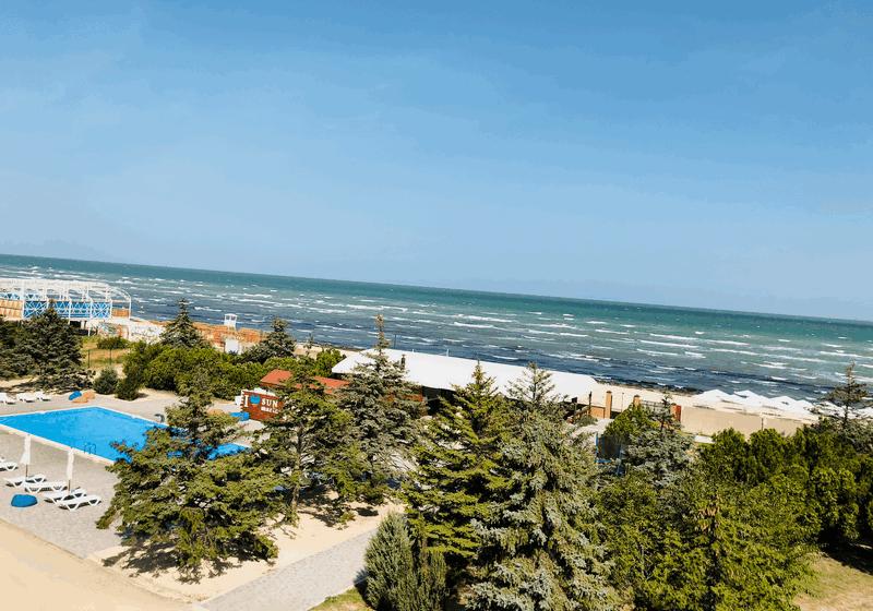 ОТдых на Азовском море | отель Сан Марина, Генгорка