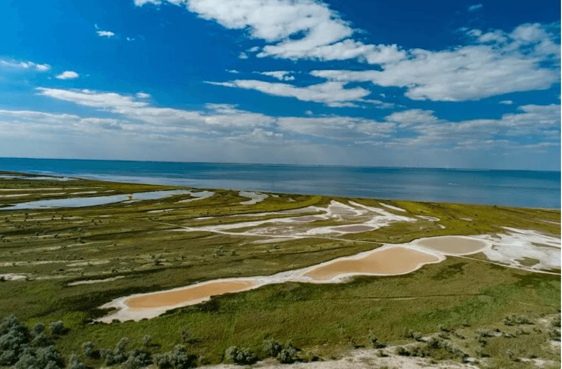 Остров Джарылгач, Херсонская обл.