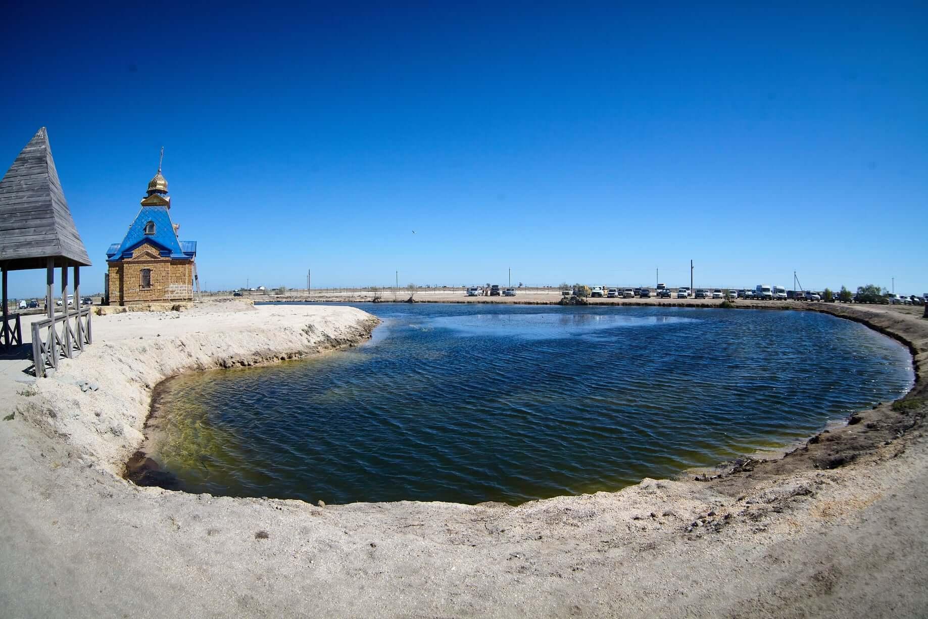 АРАБАТСКИЕ ТЕРМЫ, глицериновое озеро