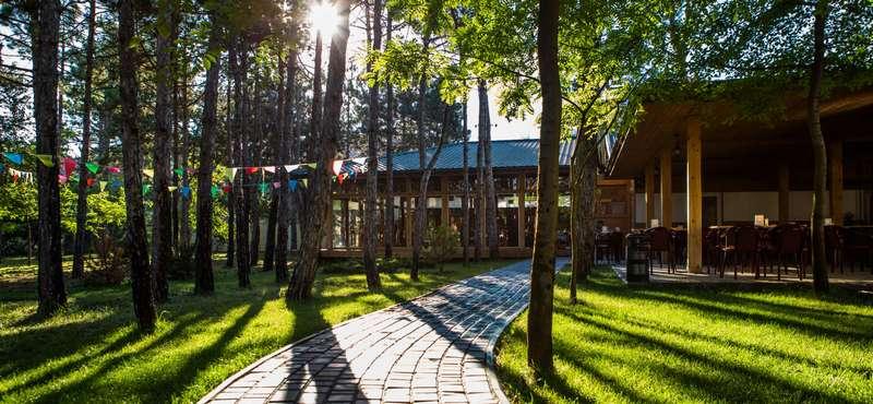 Отдых в Коблево, отель Березка