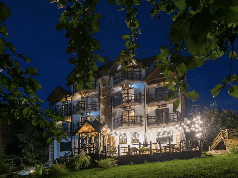 Отель История, Буковель